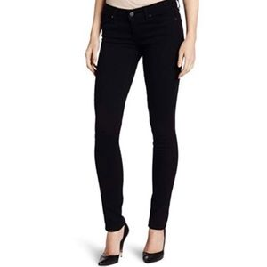 Paige Black skyline Ankle peg mid rise jeans 24